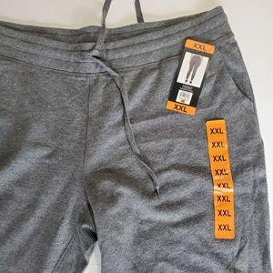 Womens XXL Champion Jogger Pants Grey